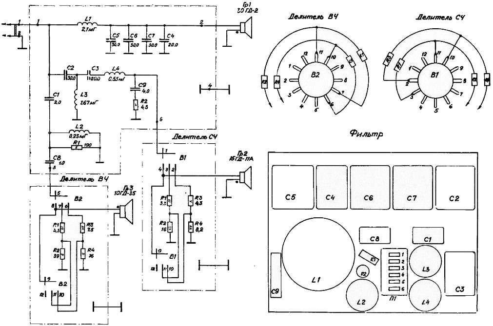 35 ас 212 схема фильтра походе, если появился