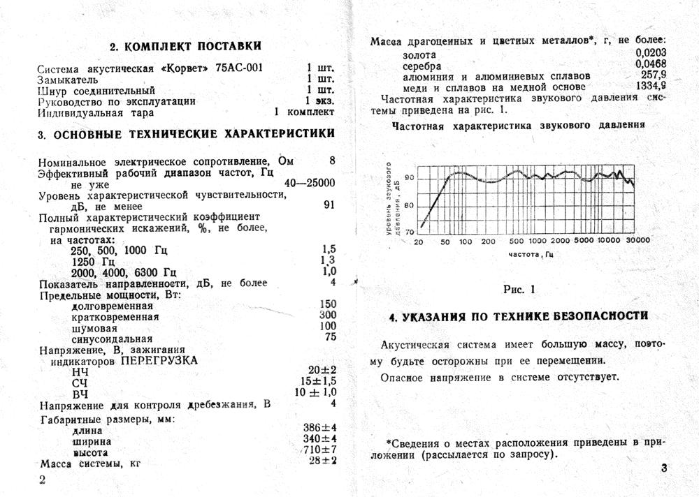 150ас-001 корвет схема